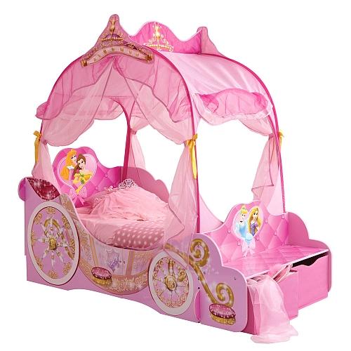 Princesas Disney Cama Carruaje 171x85 Cm