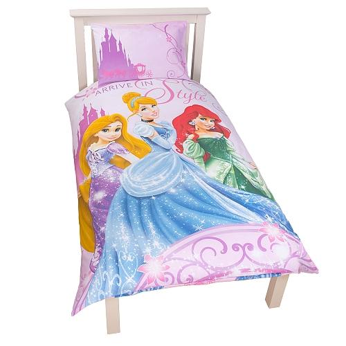Edredon Nordico Disney.Princesas Disney Set Funda Nordico Funda Almohada 135x200 Cm