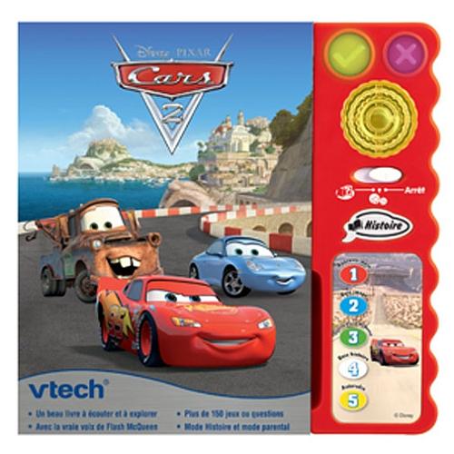 Libro Cars Interactivo Vtech Cars Cars 2 2 2 Vtech Libro Interactivo iuOPkXZ