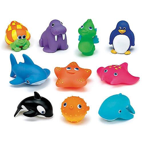 Guarda Juguetes Baño:Munchkin – Juguetes para el Baño – 10 Animales